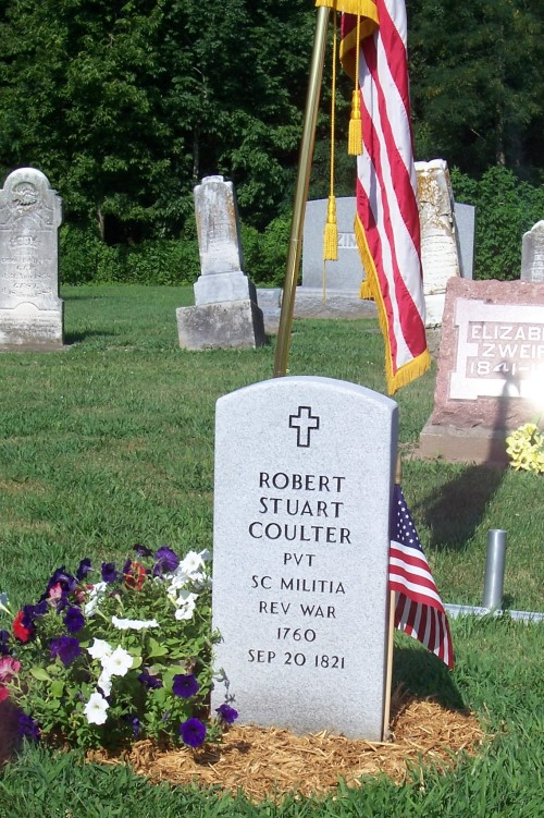 pvt Robert Stuart Coulter