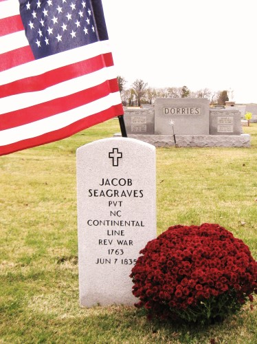 Seagraves tombstone